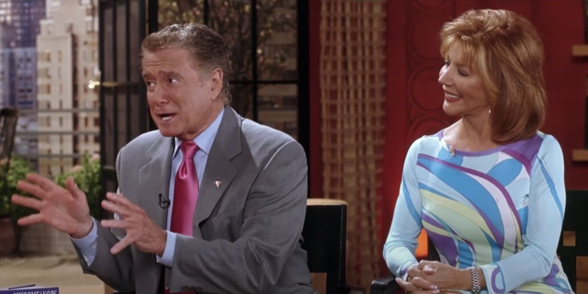 Regis Philbin and Joy Philbin in Miss Congeniality 2: Armed and Fabulous