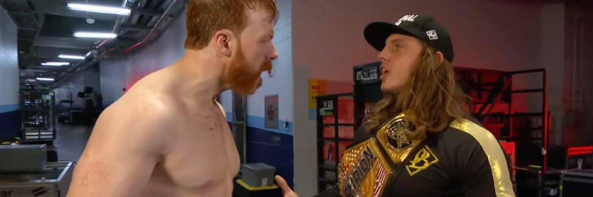 Sheamus and Riddle on Raw