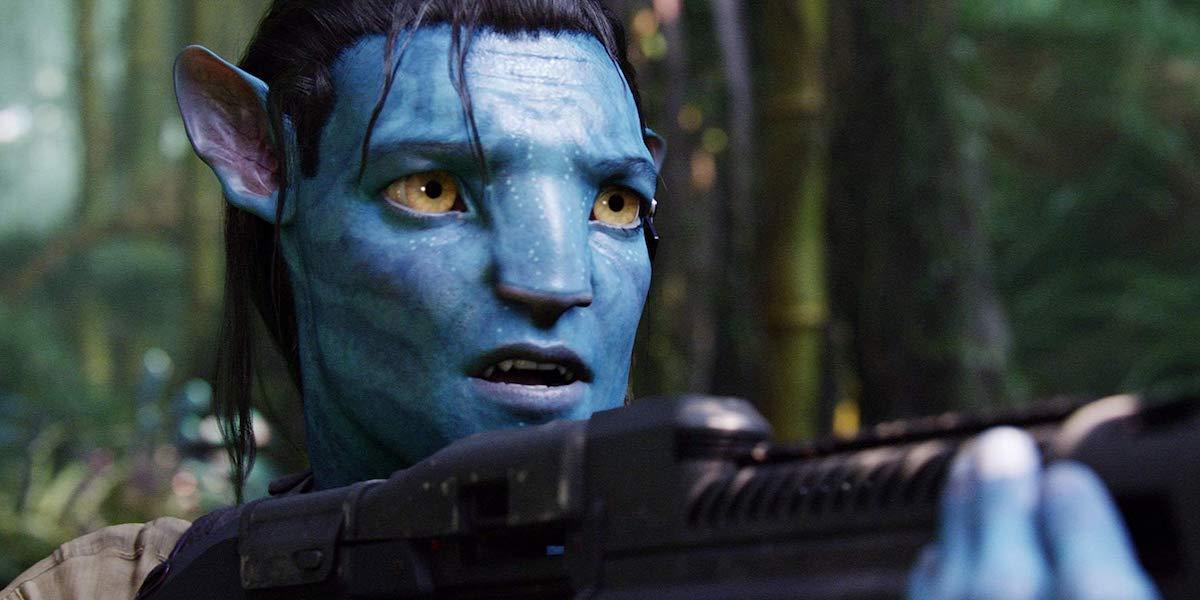 Sam Worthington as Jake Sully in Avatar 2009
