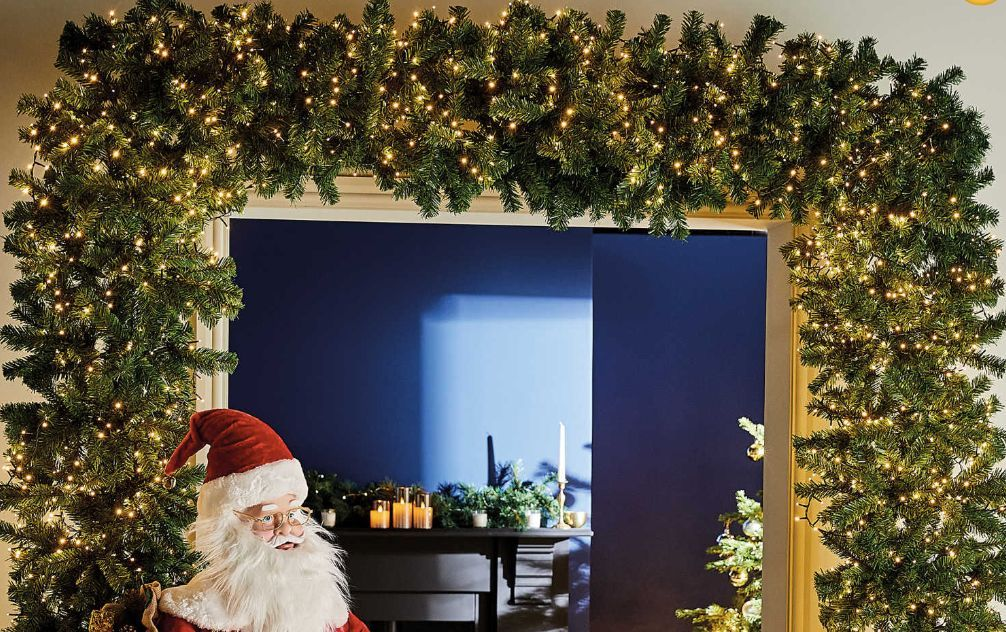 Aldi has launched a Christmas tree arch –it's the festive decor we never knew we needed