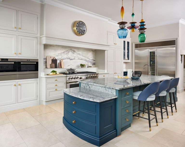 Kitchen island lighting ideas Martin Moore