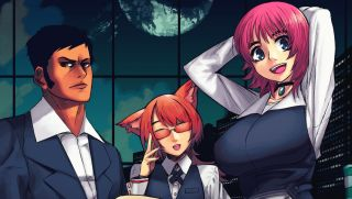 N1RV Ann-A: Cyberpunk Bartender Action