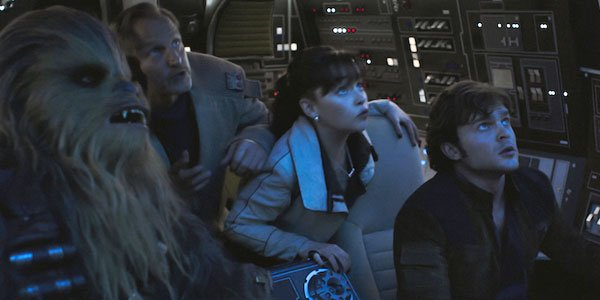 Solo A Star Wars Story, Chewie Is really old