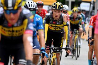 Tour de France 2021 108th Edition 3rd stage Lorient Pontivy 1829 km 28062021 Primoz Roglic SLO Jumbo Visma photo POOL David StockmanBettiniPhoto2021