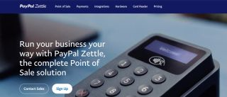 PayPal Zettle POS system web homepage