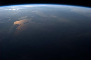 Easter Sunday Sunrise from Space: Expedition 35