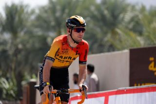 British Mark Cavendish of BahrainMerida pictured at stage 2 of the UAE Tour 2020 cycling race 168km from Hatta to Hatta Dam in Dubai United Arab Emirates Monday 24 February 2020 This years edition is taking place from 23 February to 29 February BELGA PHOTO YUZURU SUNADA FRANCE OUT Photo by YUZURU SUNADABELGA MAGAFP via Getty Images