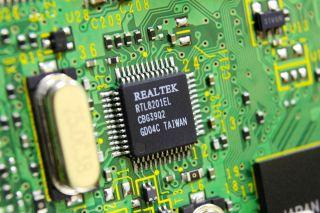 Stock image of Realtek chip