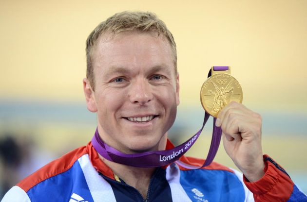 Sir Chris Hoy and keirin gold, London 2012 Olympic Games, track day six