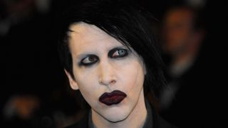A close-up of Marilyn Manson