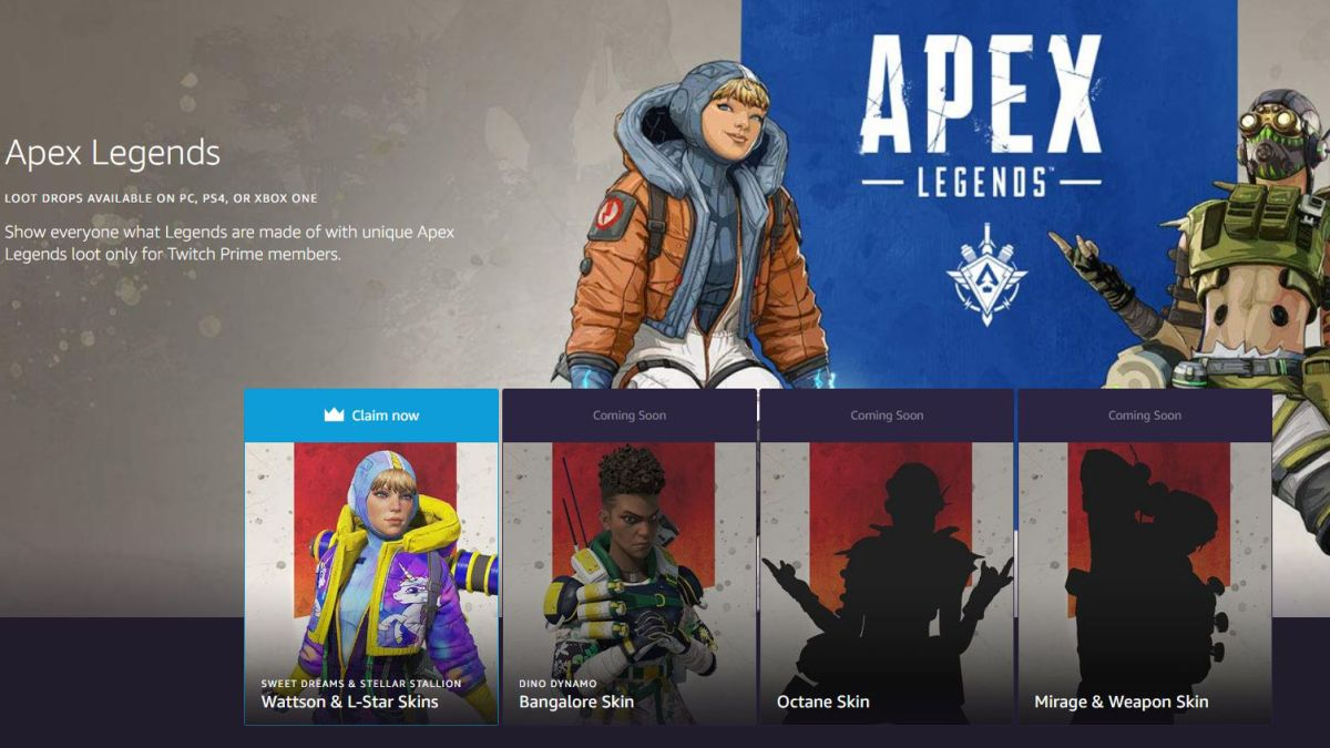 How to claim Apex Legends' Twitch Prime content drop | TechRadar