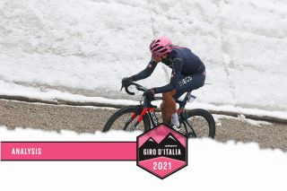 Giro d'Italia 2021 - 104th Edition - 16th stage Sacile - Cortina d'Ampezzo 212 km - 24/05/2021 - Egan Bernal (COL - Ineos Grenadiers) - photo Ilario Biondi/BettiniPhoto©2021