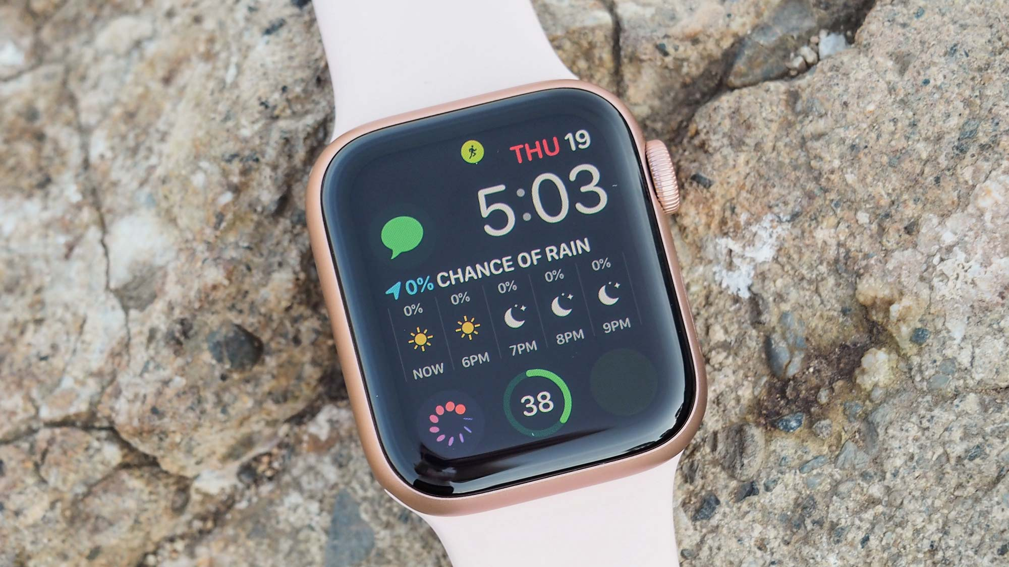 la meilleure Apple Watch.  Apple Watch série 5: