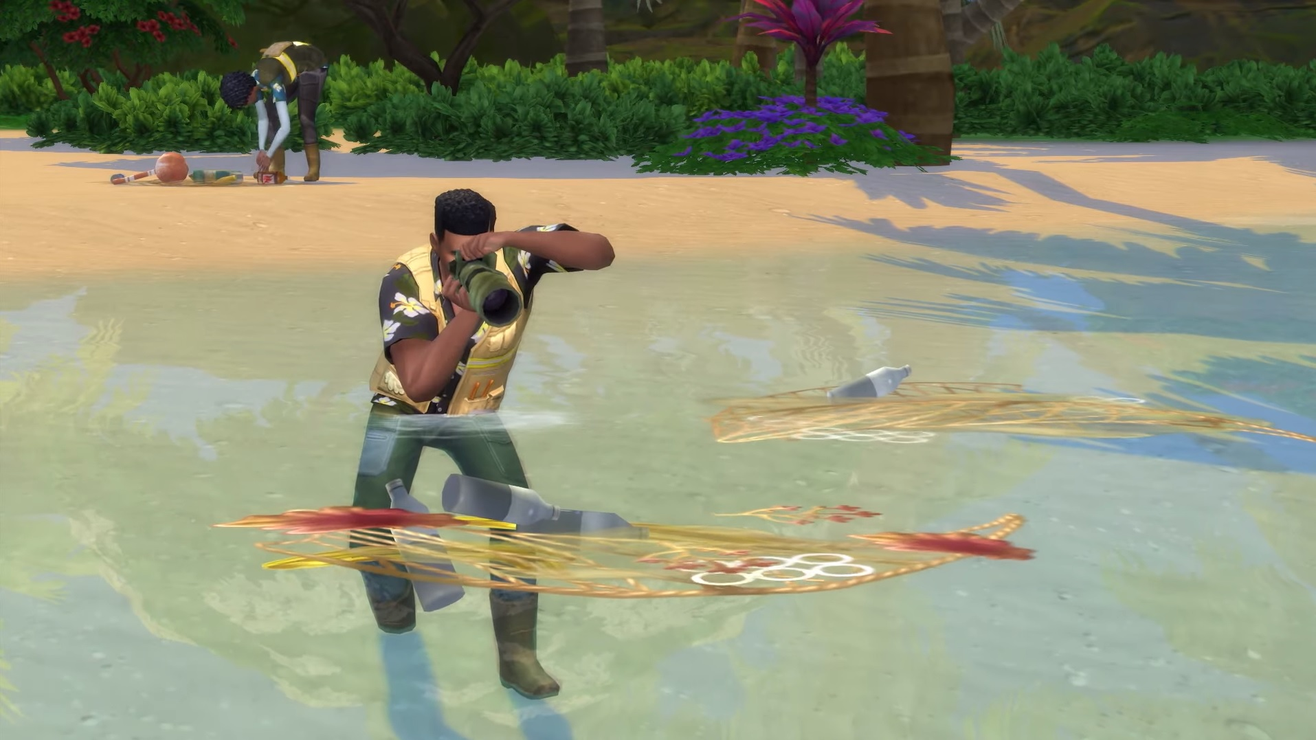 Take a tour of The Sims 4: Island Living | PC Gamer