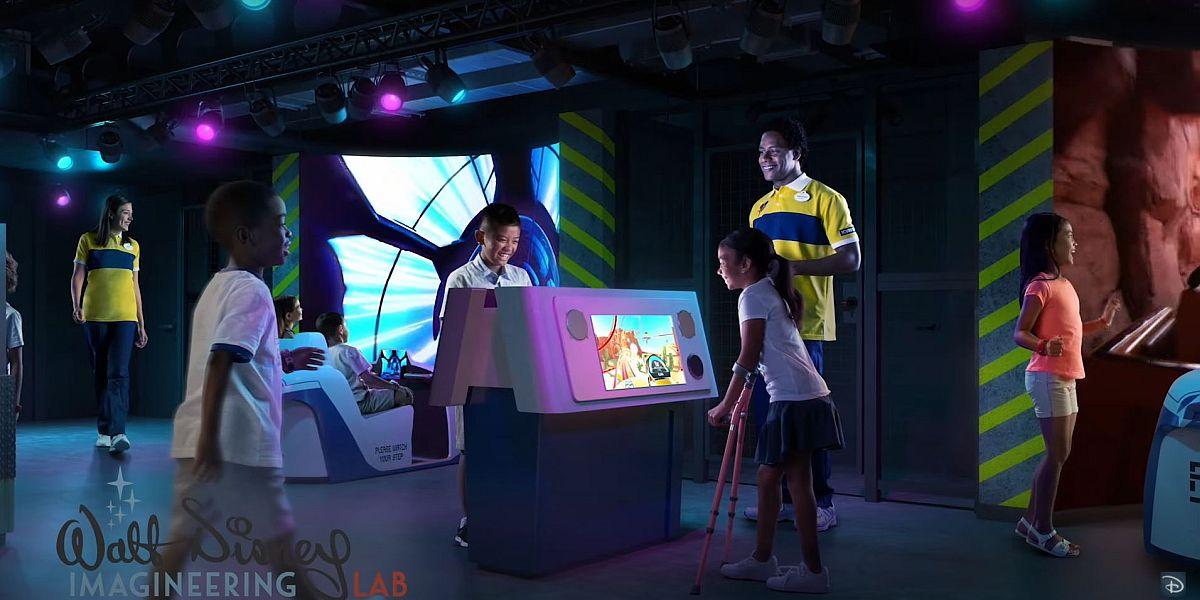 Walt Disney Imagineering Lab Concept Art