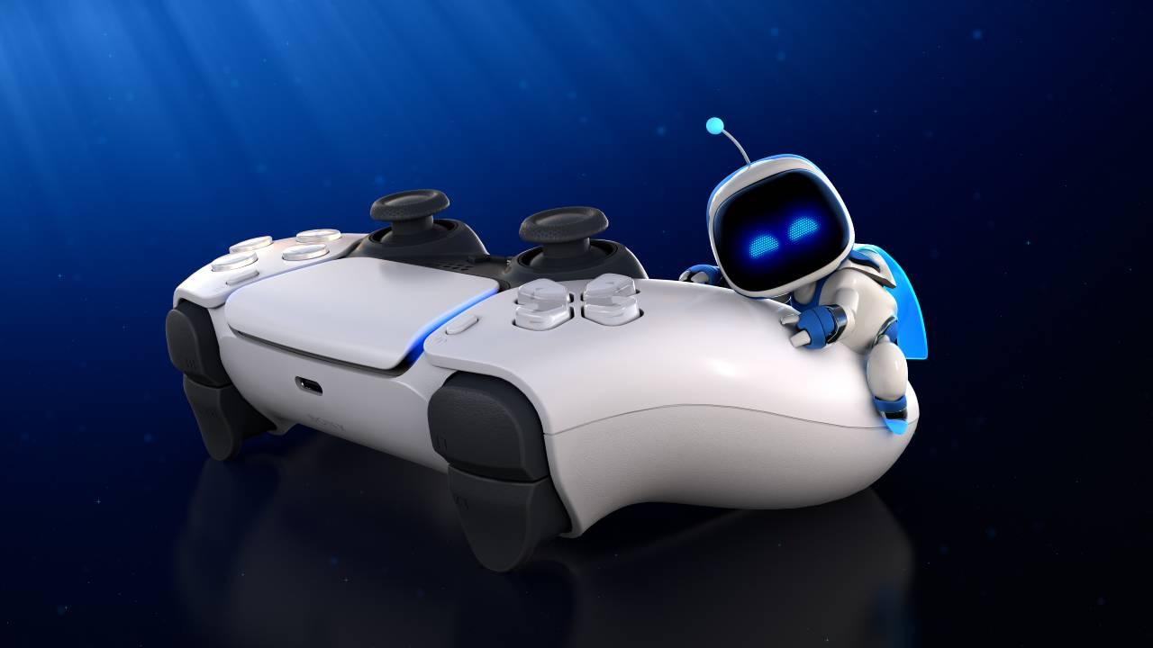 Astro's Playroom PS5 DualSense controller