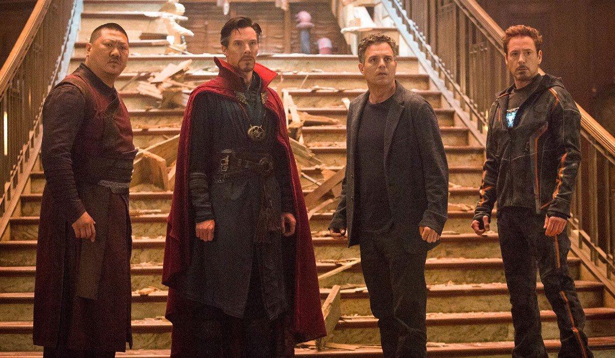 Wong Doctor Strange Bruce Banner and Tony Stark Marvel