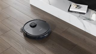 This ECOVACS DEEBOT is $200 off right now, and it can mop too! Image shows ECOVACS DEEBOT OZMO T5