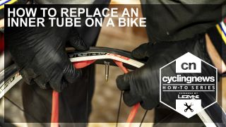 How to change an inner tube on your bike