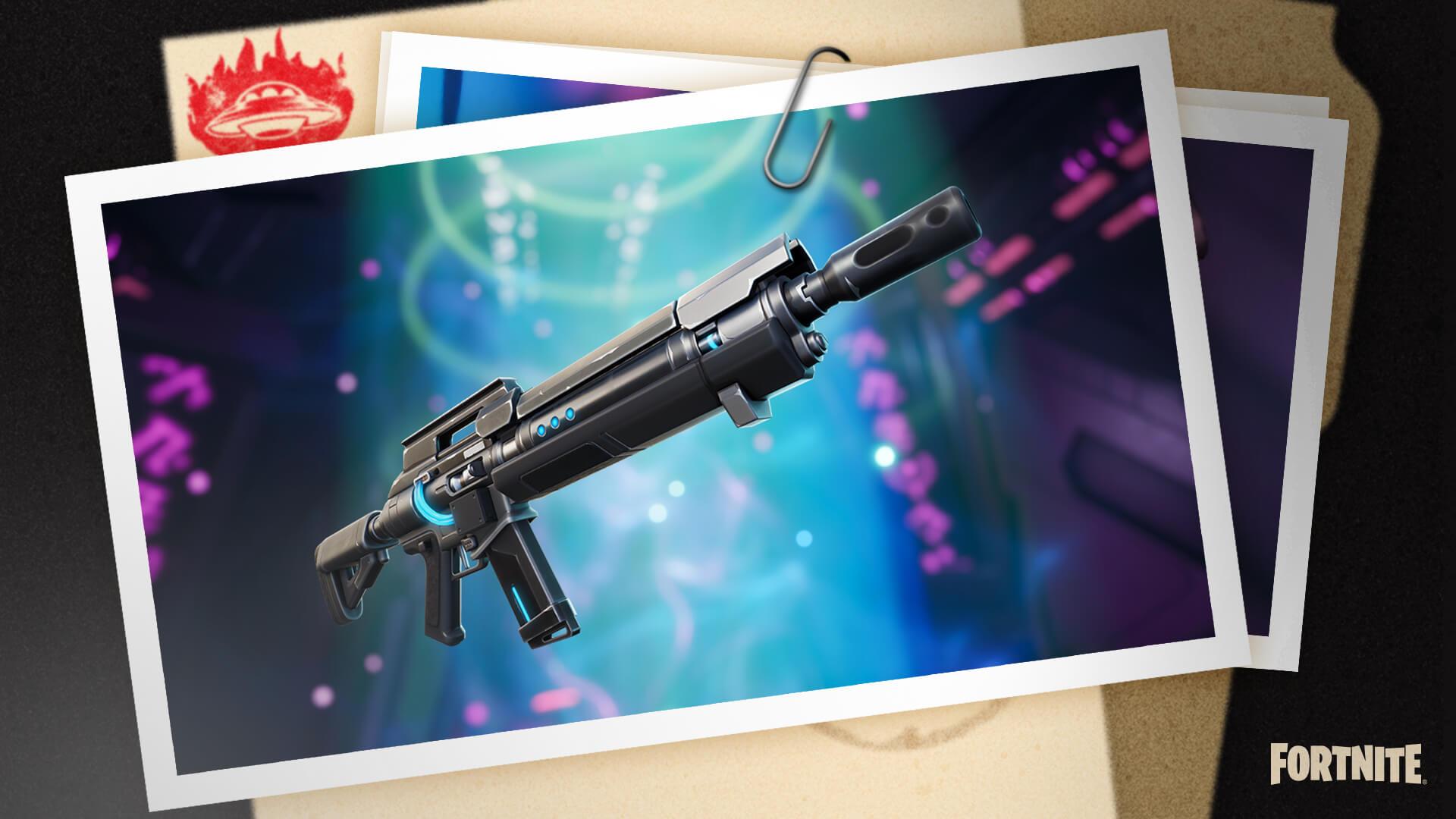 fortnite mythic weapons season 7