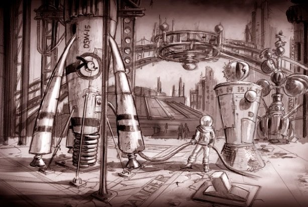 Concept Art From Warren Spector's Steampunk Mickey Mouse Revealed #8675