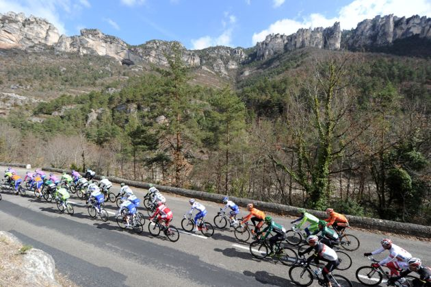 Gorges de Tarn, Paris-Nice 2012, stage five