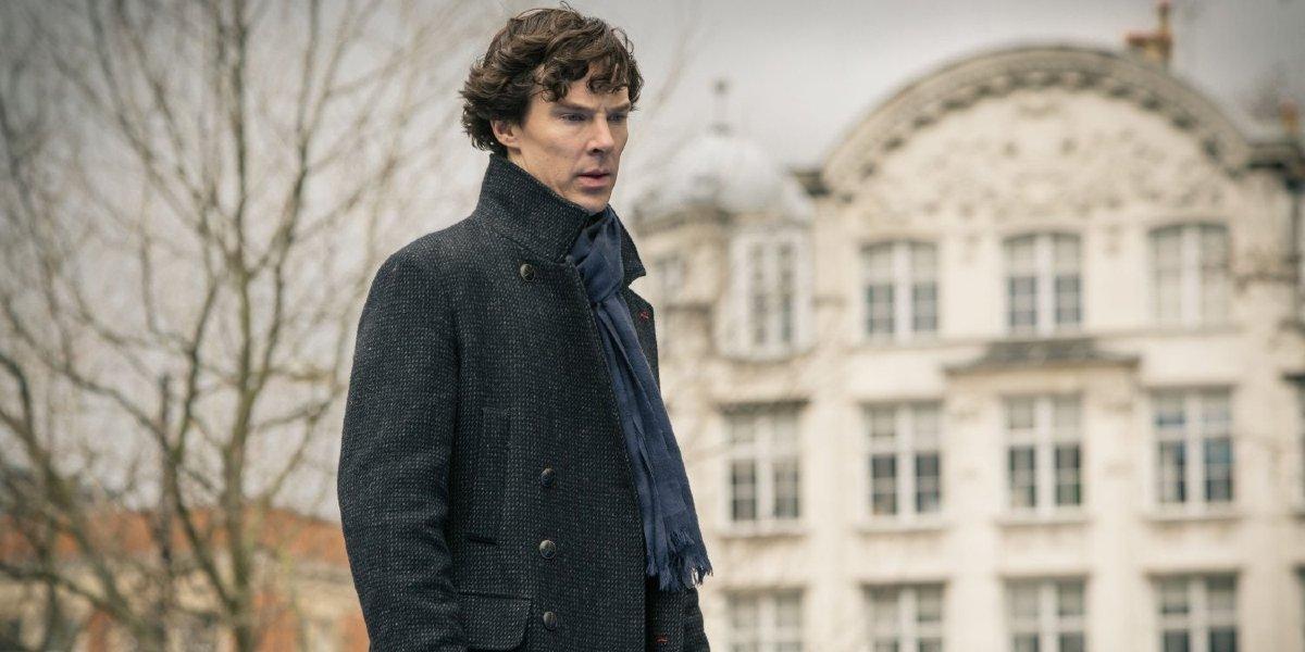 Benedict Cumberbatch on Sherlock