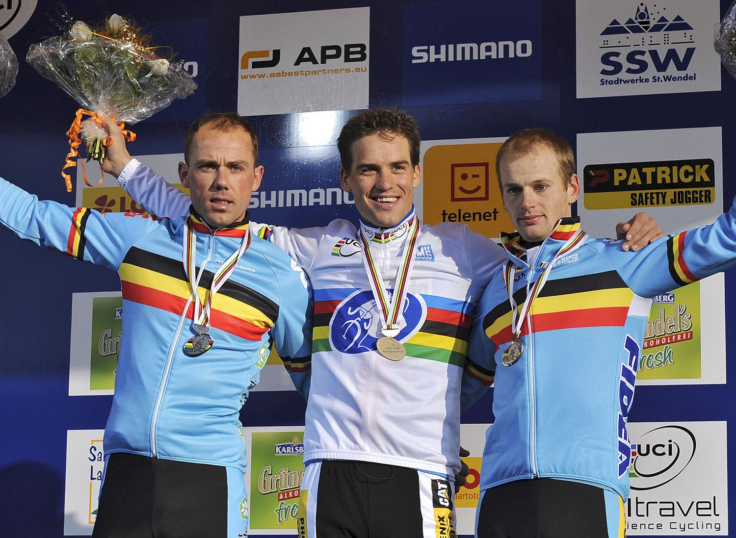 Zdenek Stybar tops elite men