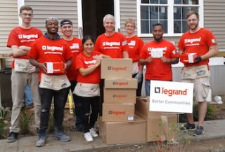 Legrand Better Communities Program Reports $550K+ in Donations in 2017