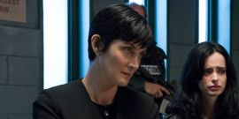 Why Jessica Jones Is Different From Working On Other Marvel Shows For Carrie-Anne Moss