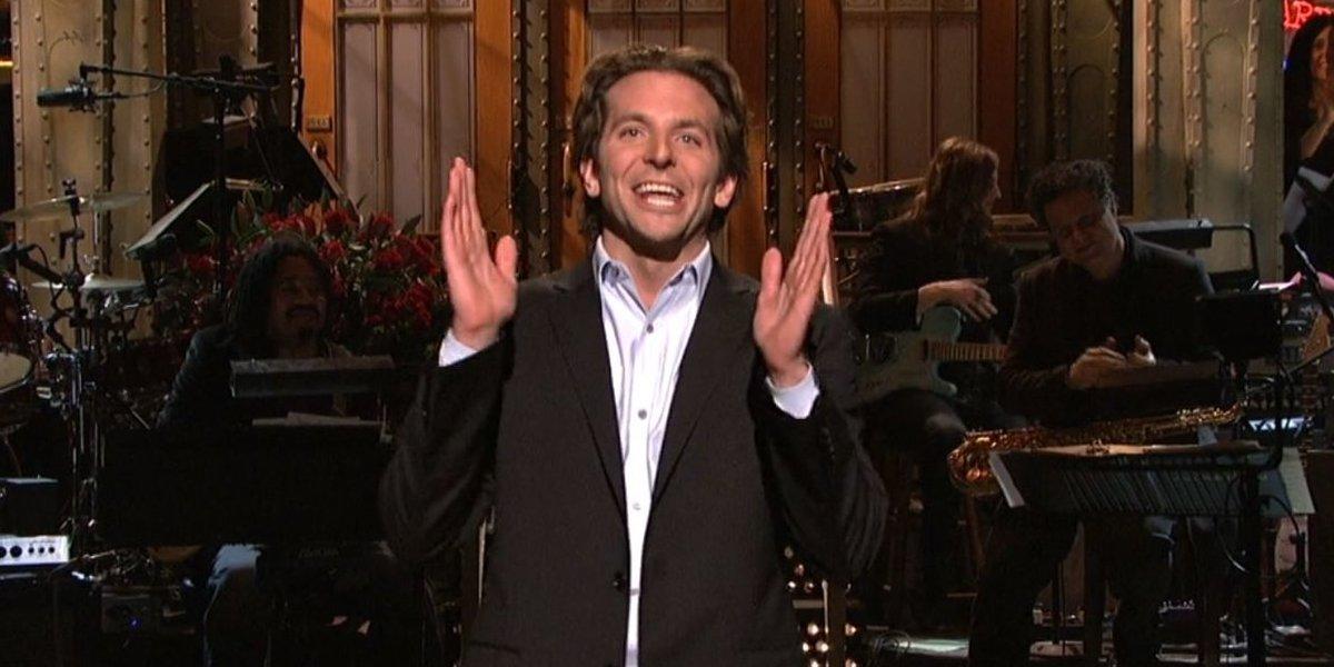 Bradley Cooper hosting Saturday Night Live
