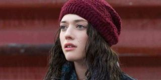 Darcy Lewis (Kat Dennings) looks on in 'Thor: The Dark World'