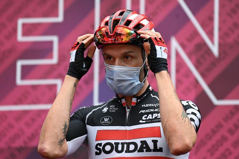 Tomasz Marczynski at the 2021 Giro d'Italia