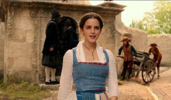 Emma Watson blue dress in Beauty and the Beast