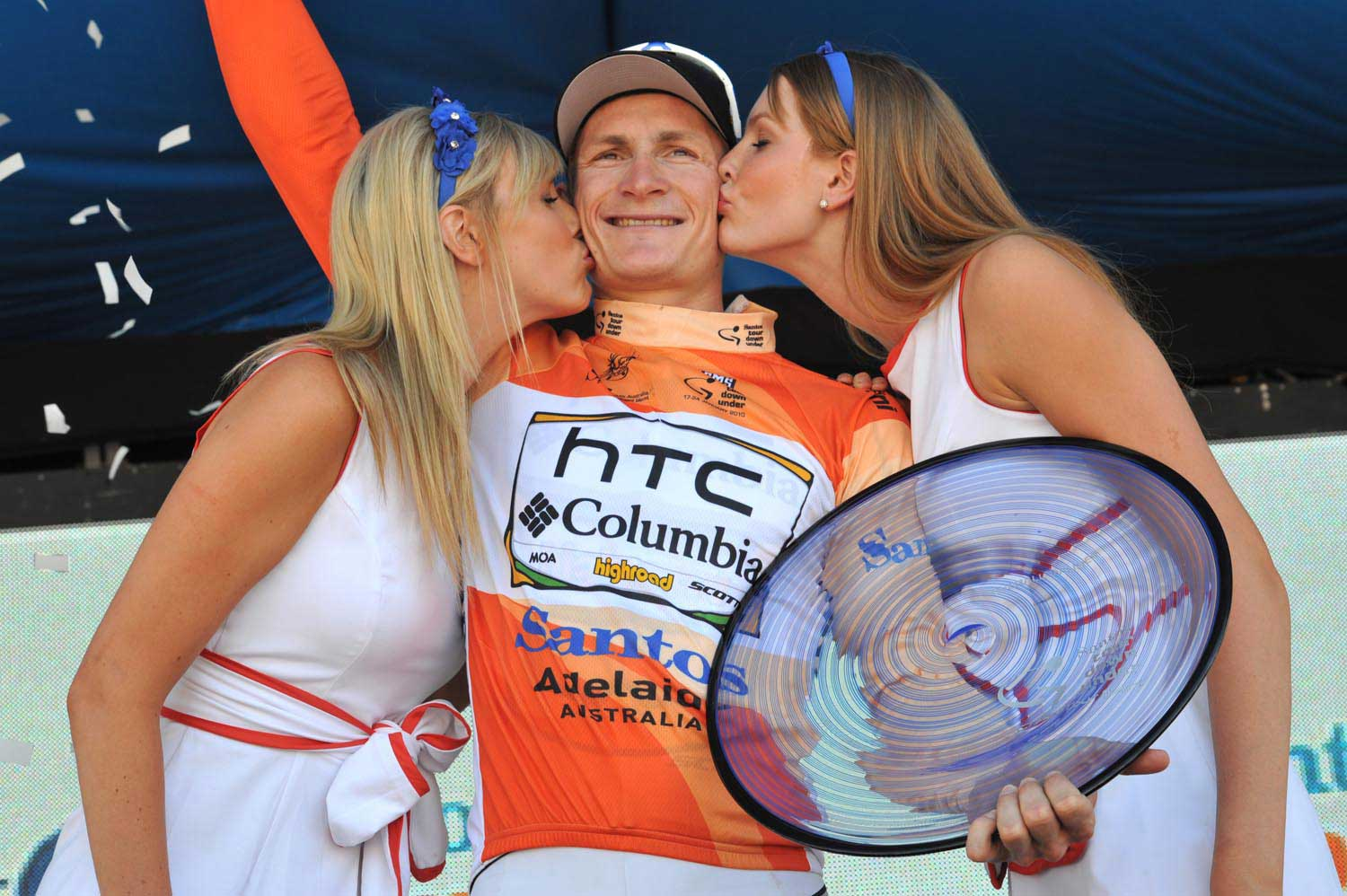 andre greipel, tour down under winner 2010, htc columbia