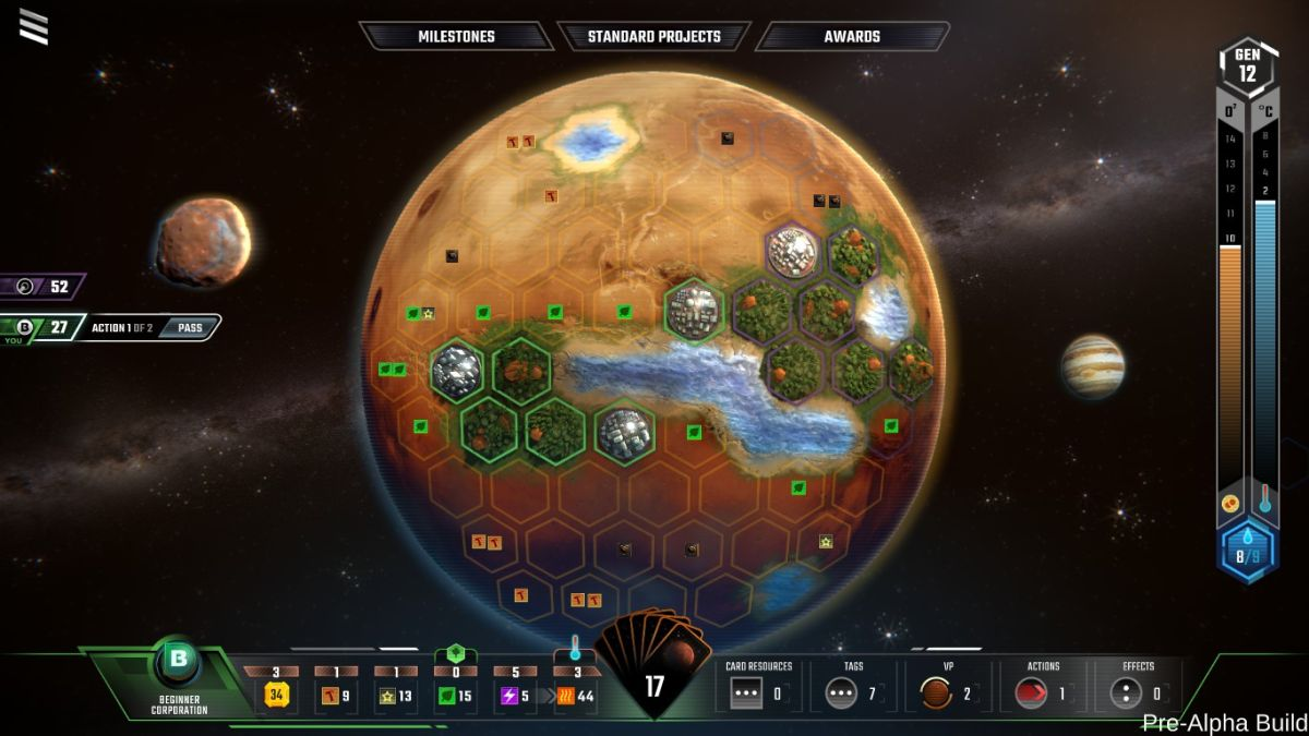 Terraforming Mars digital is a quick-playing alternative to tabletop