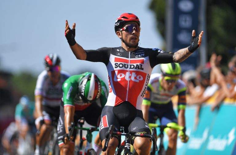 Caleb Ewan wins stage five of the Benelux Tour 2021