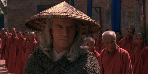 Christopher Lambert as Raiden in Mortal Kombat