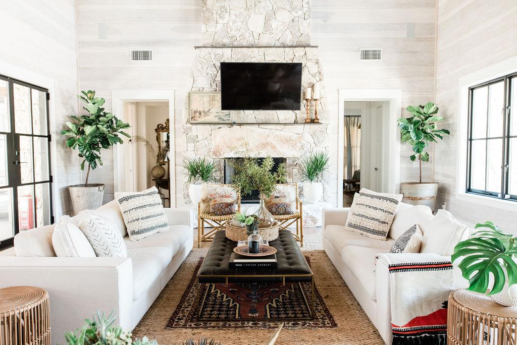 13 Farmhouse Living Room Ideas You Can, Farmhouse Living Room