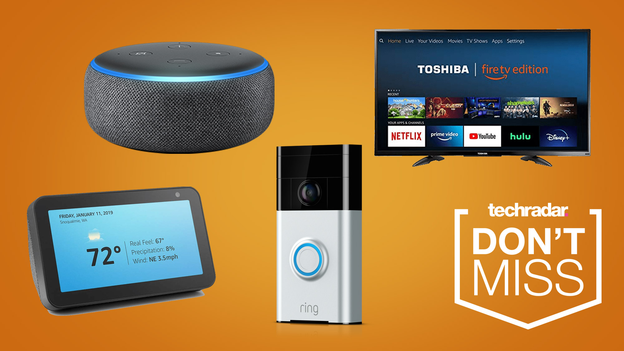 Amazon Prime Day deals you can shop right now: Blink Mini, 4K TVs, Ring and more thumbnail
