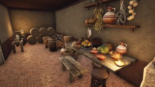 Food and details in The Forgotten City