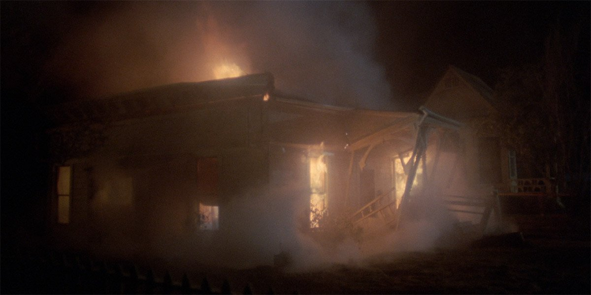 Carrie's house collapses in Carrie