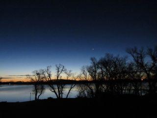 Venus and Lake from Hendricks