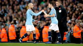 David Silva replaced by Phil Foden