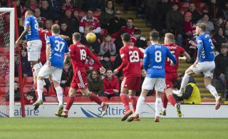 Aberdeen v Rangers – William Hill Scottish Cup – Quarter Final – Pittodrie Stadium