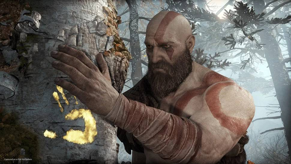 Kratos in Fortnite