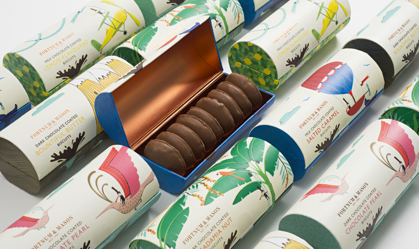 fortnum & mason biscuit packaging