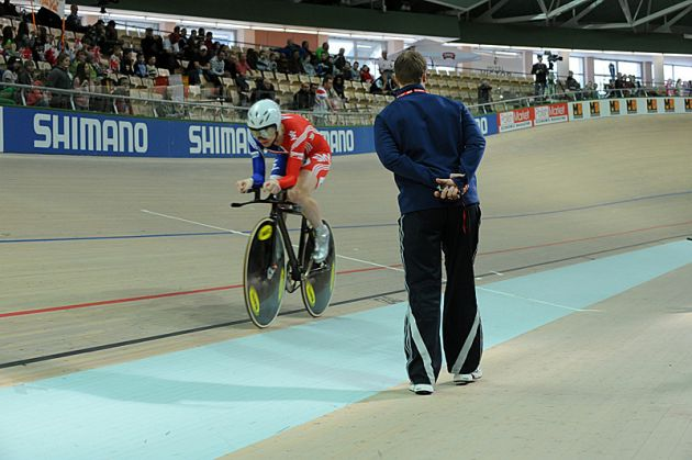 Wendy Houvenaghel individual pursuit at 2009 track cycling world championships in Poland