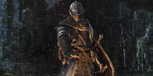 knight lights fire Dark Souls