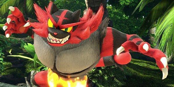 Incineroar joins Smash Bros.
